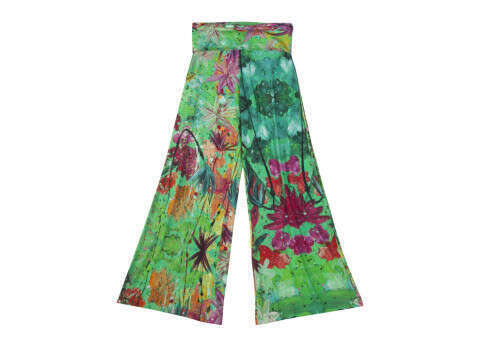 """Pantaloni a palazzo in Jersey """"Giungla"""" 73c268e6a55"""